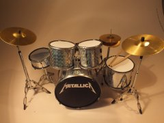 Metallica Drum Kits
