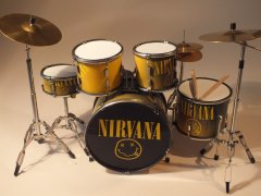 Kurt Cobain Drum Kits