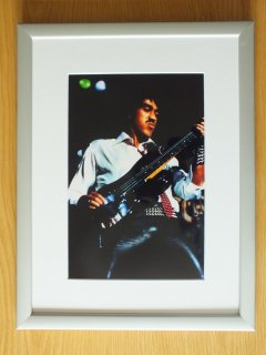Framed Rock Star Photos Live in Concert