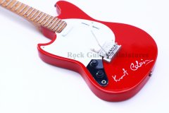 "Kurt Cobain 10"" Miniature Guitars"