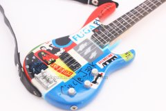 """RHCP 10"""" Miniature Guitars"""