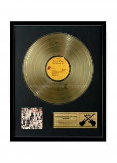 """Keith Richards 12"""" Gold Disks"""