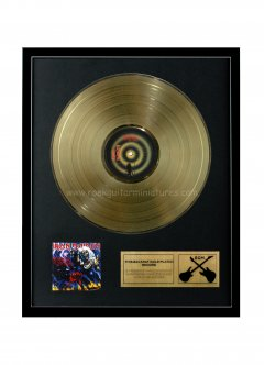 "Iron Maiden 12"" Gold Disks"