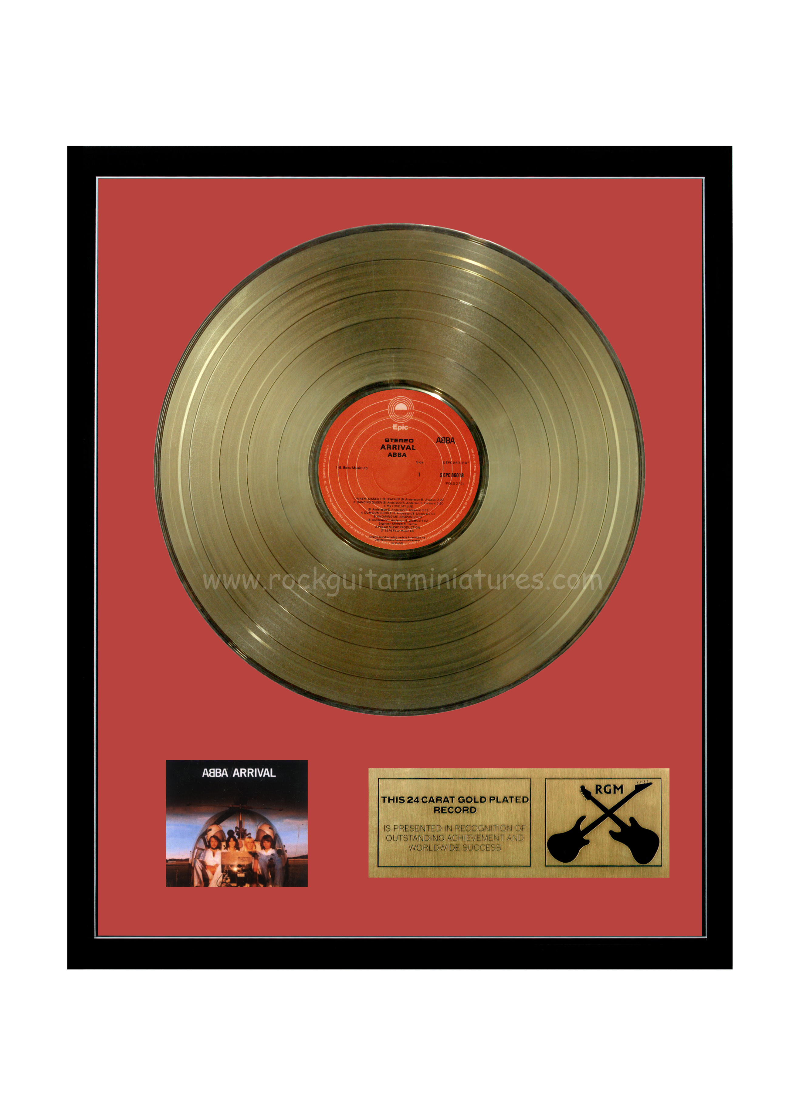 Abba Arrival Gold Disc 24k Plated Lp 12 Quot