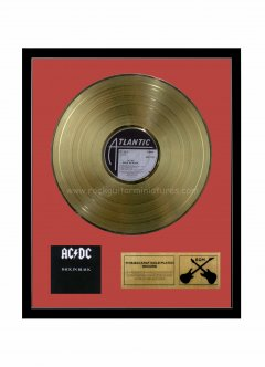 "ACDC 12"" Gold Disks"