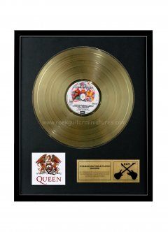 "Brian May 12"" Gold Disks"