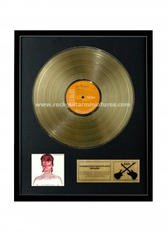 "David Bowie 12"" Gold Disks"