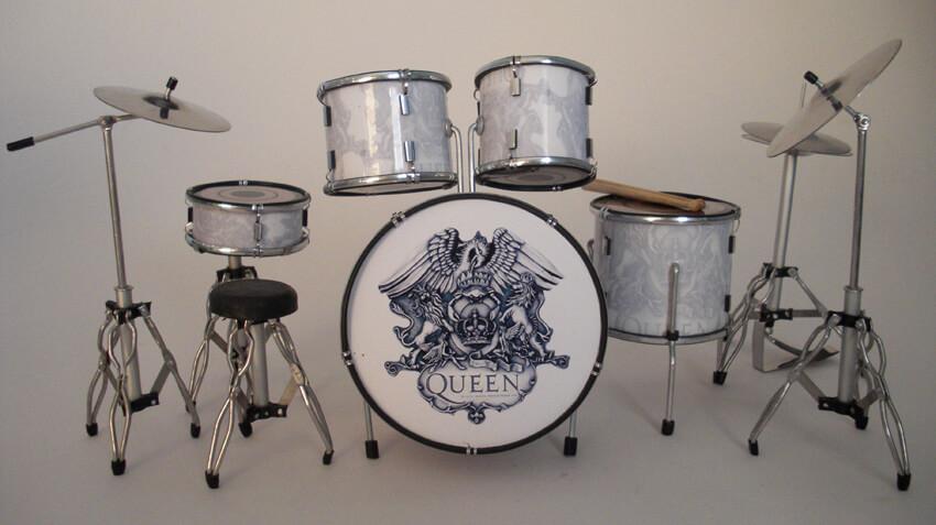 Roger Taylor Queen Miniature Drumkit Rgm328