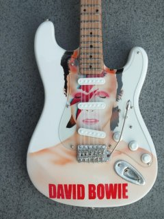 "David Bowie 10"" Miniature Guitars"