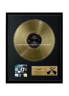 """Bono 12"""" Gold Disks"""