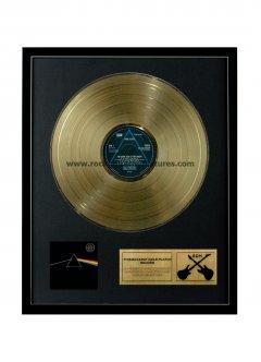 """Pink Floyd 12"""" Gold Disks"""