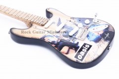 "Oasis 10"" Miniature Guitars"