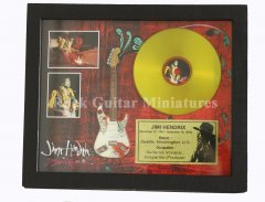 Jimi Hendrix Shadowboxes