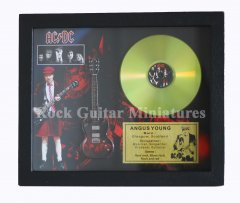 "Angus Young 12"" Gold Disks"