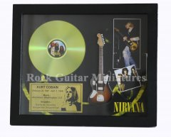 "Kurt Cobain 12"" Gold Disks"