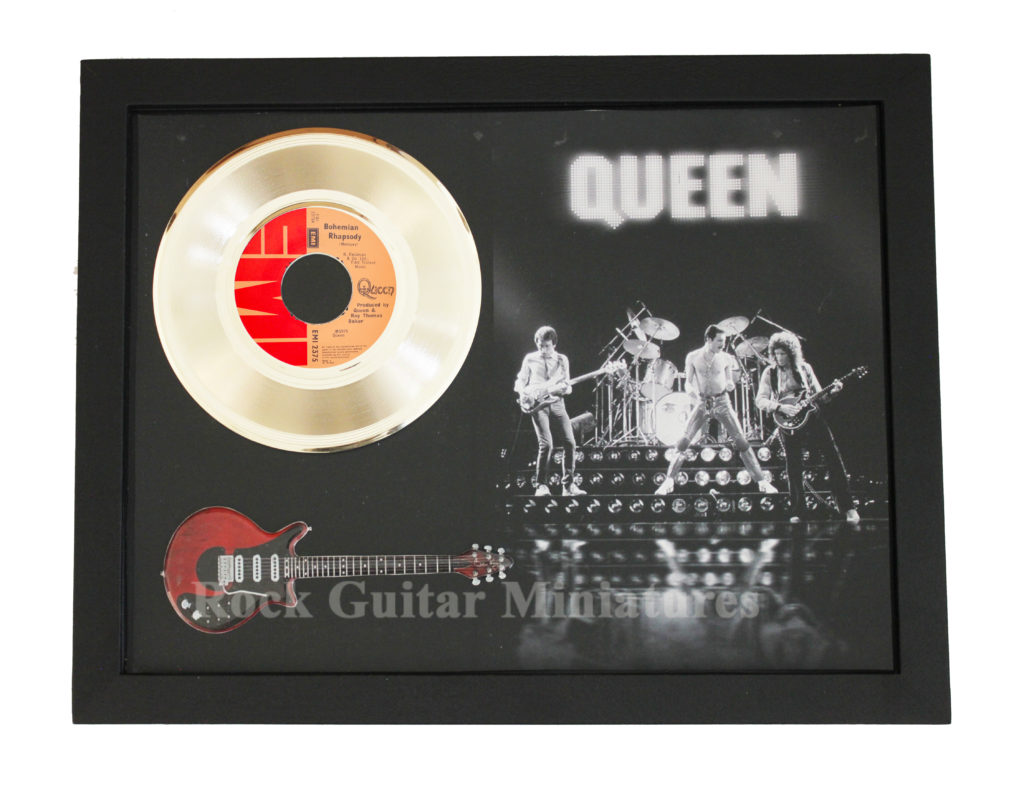 Queen Bohemian Rhapsody 24 Carat Gold Plated 7 Quot Vinyl Disc