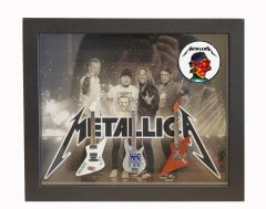 Metallica Shadowboxes