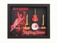 Keith Richards Shadowboxes