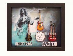 Jimmy Page Shadowboxes