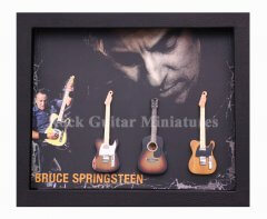 Bruce Springsteen Shadowboxes