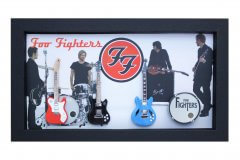 Foo Fighters Shadowboxes